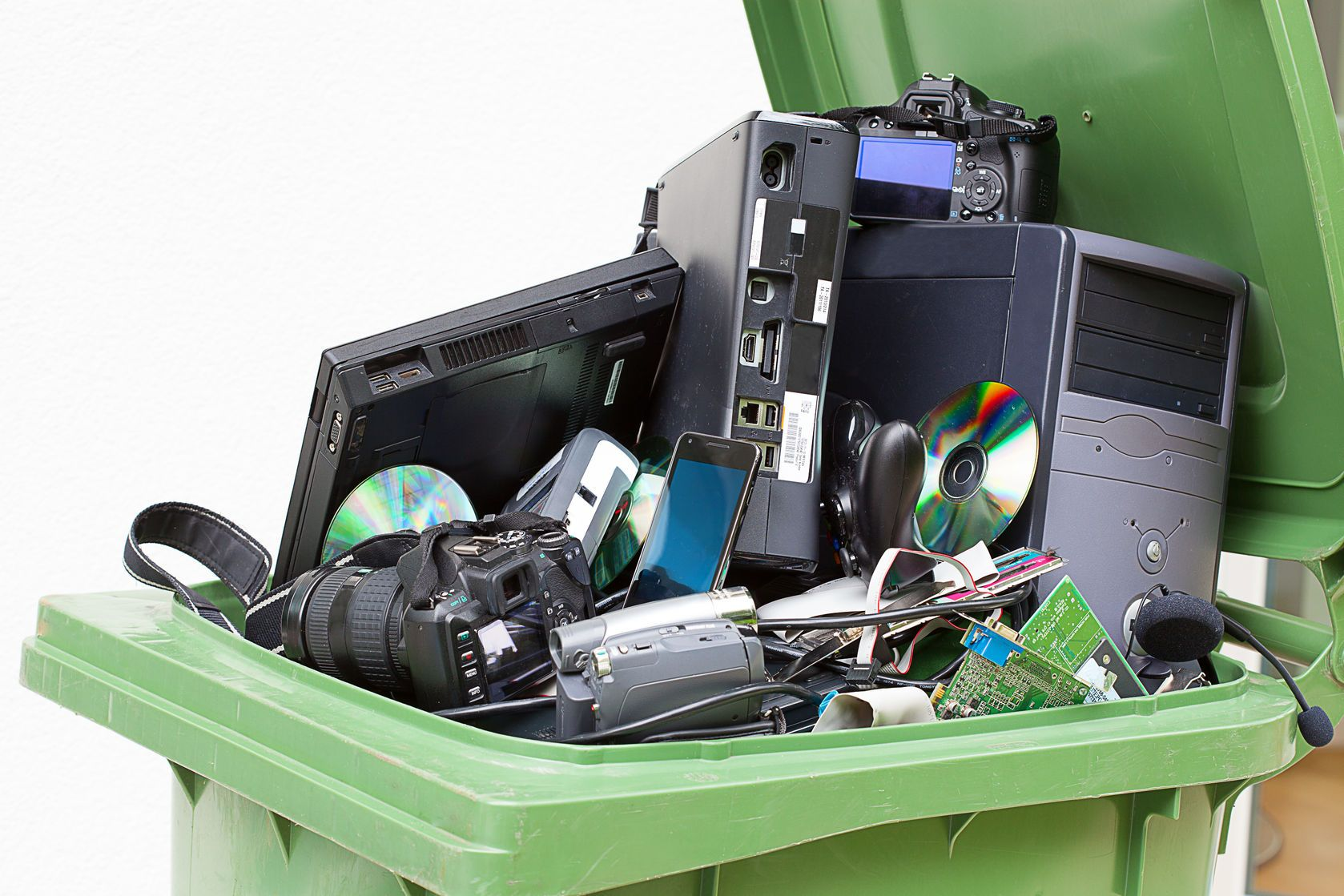 Computer recycling helps keep toxic materials out of our environment.